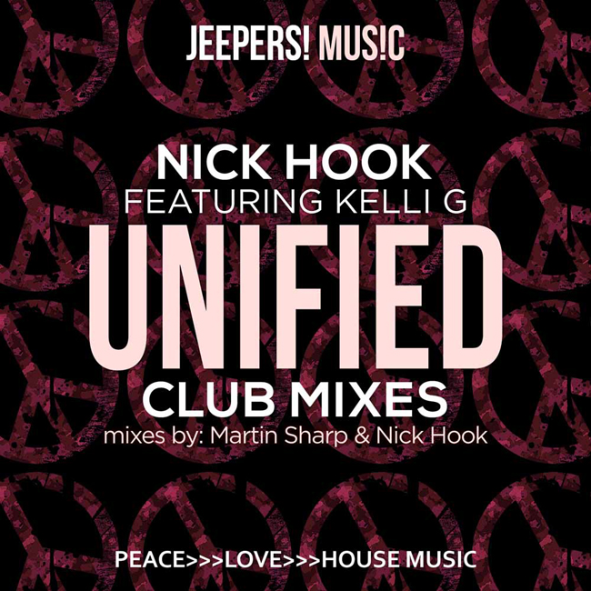 Unified by Nick Hook - Club Mixes - release artwork